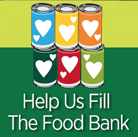 graphic reads help us fill the food bank