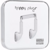 Happy Plugs Earbuds with Mic White
