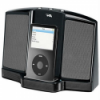 Cyber Acoustics CA-461Portable Digital 30-pin iPod Speaker System - Black - Auxillary input - Charges Apple iPod devices