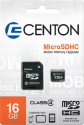 Centon MP Essential Micro SD HC 16GB Card