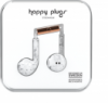 Happy Plugs Earbuds Plus with Mic White Marble