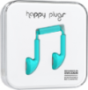 Happy Plugs Earbuds with Mic Turquoise
