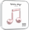 Happy Plugs Earbuds Plus - Pink Gold