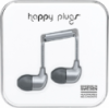 Happy Plugs In-Ear Earbuds with Mic Space Gray