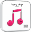 Happy Plugs Earbuds Plus with Mic - Cerise
