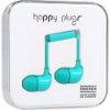 Happy Plugs In-Ear Earbuds with Mic Turquoise