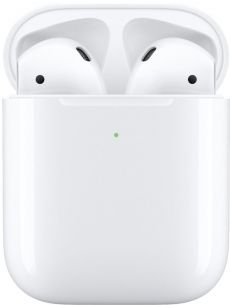 Apple - AirPods with Wireless Charging Case - White *March 2019 AirPods*