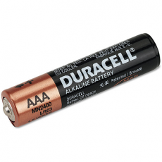 Duracell Alkaline AAA - 1.5 Volt Heavy Duty General Battery - Price is per battery