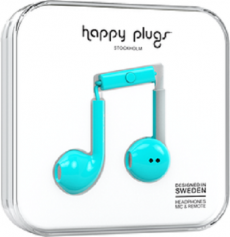 Happy Plugs Earbuds Plus - Turquoise
