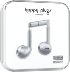Happy Plugs Earbuds Plus - Space Gray
