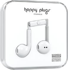 Happy Plugs Earbuds Plus - White