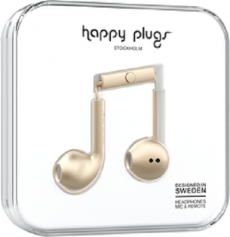Happy Plugs Earbuds Plus - Space Champagne