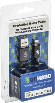 Charging Cable OnHand Lightning/8-pin Charging Cable