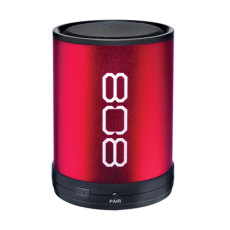 808 Audio Canz Wireless Speaker Red Box Bluetooth