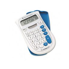 TI 1706 Super View Basic Calculator - Silver