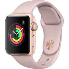 Apple Watch Series 3 - Gold Aluminum Case 38 mm with Pink - MQKW2LL/A