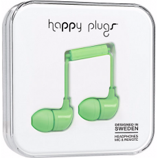 Happy Plugs Earbuds with Mic Mint