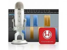 Logitech - Blue Microphones Yeti Podcaster Podcaster + Hindenburg Journalist Bundle - microphone - USB - silver 988-000090